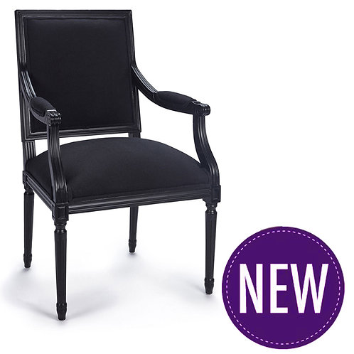 Nora Black Chair