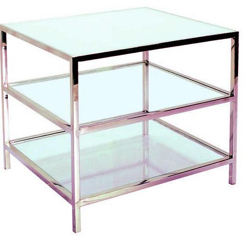 Chloe Open Shelf Side Table
