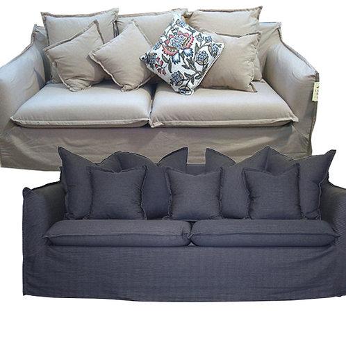 Slip Cover Hamptons Sofa – 2 or 3 Seater