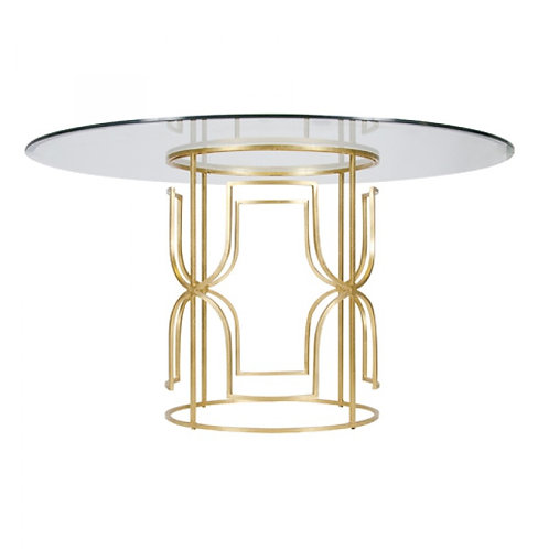 Grace Dining Table - Gold or Silver Leaf