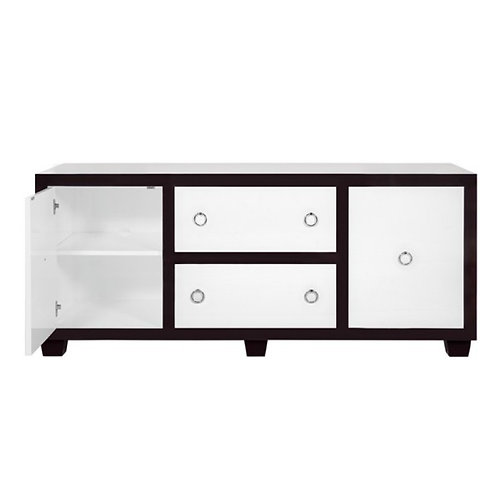 Lucia Rosewood Nickel Console