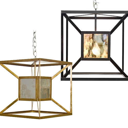 Cube Pendant – 2 Finish Options