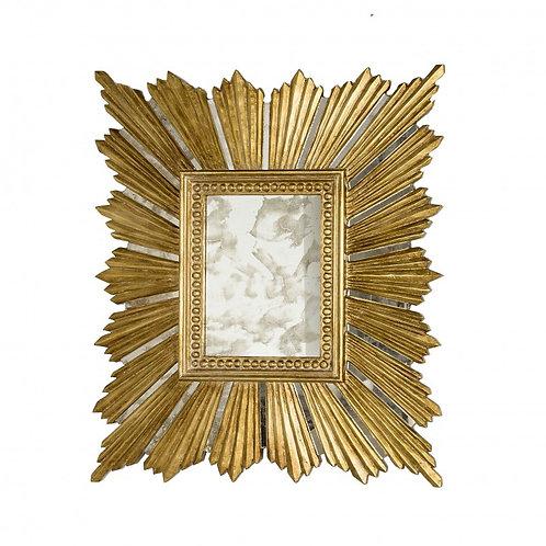 Random Gold Leaf Mirror (avail in Silver)