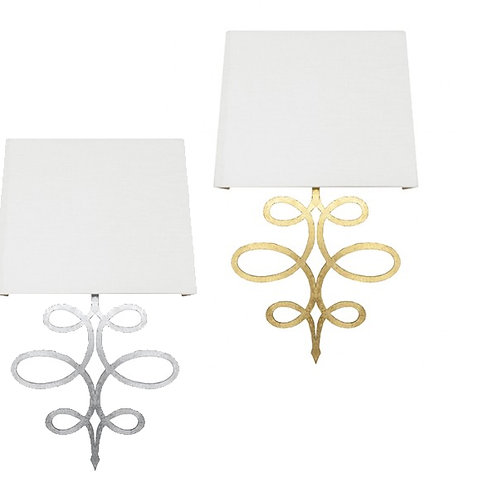 Mayfair Wall Sconce – Gold or Silver