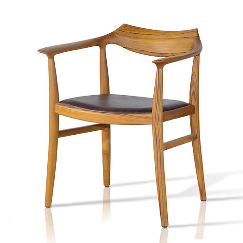 Lisbon Dining Chair - Black/Natural PRICE TO COME
