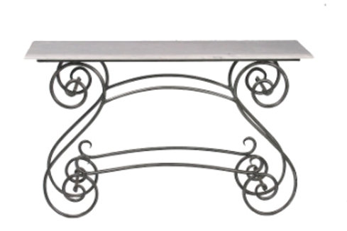 Gardeners Console   (Marble/Glass Top top)