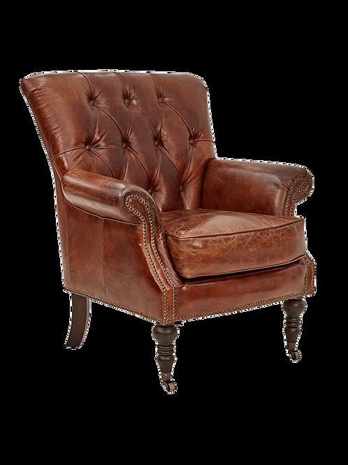 Diamond Button Cigar Chair