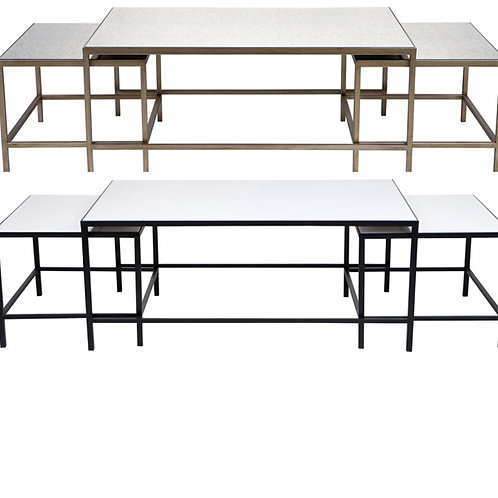 3 Piece Coffee Table – 2 Colour Options