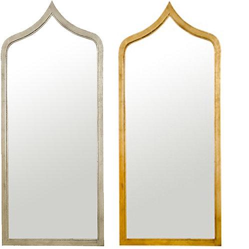 Medina Mirror – Silver or Gold Leaf