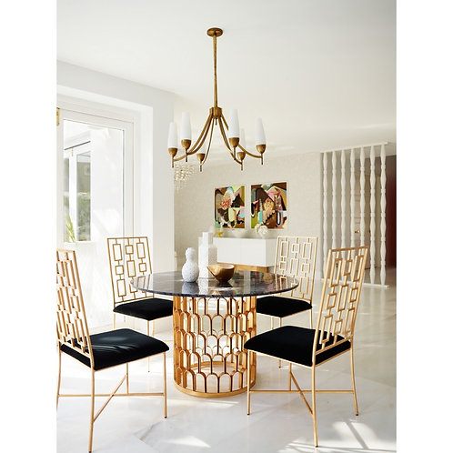 Greg Natale MarbleTop Dining Table LIMITED RELEASE