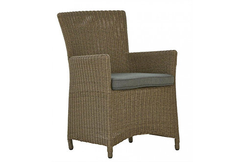 Square Rattan DIning Chair