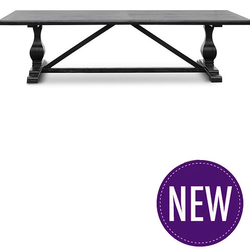 Gibson 3m Dining Table – Black
