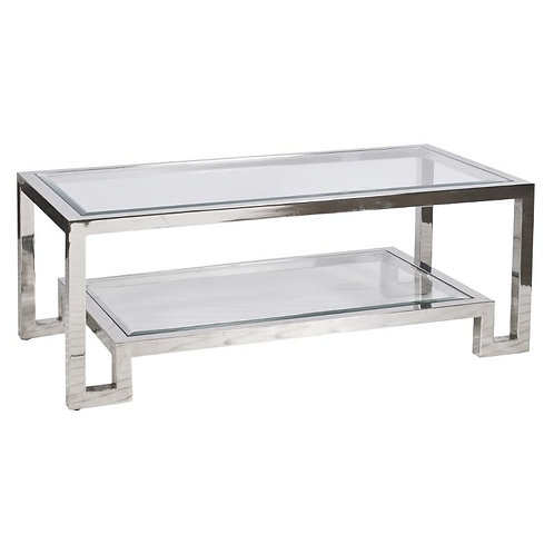 Winsome Coffee Table - Nickel or Gold