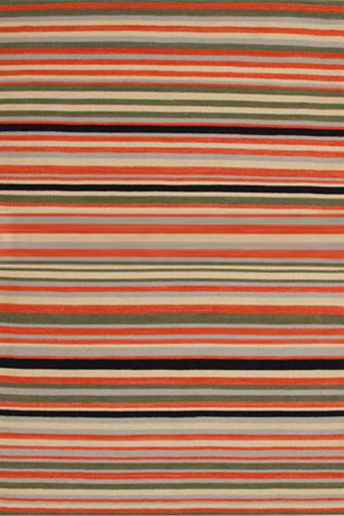 Bright Stripe Wool Rug