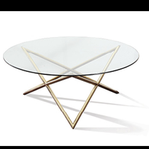 Angela Side Table Gold Or Silver - Angela coffee table