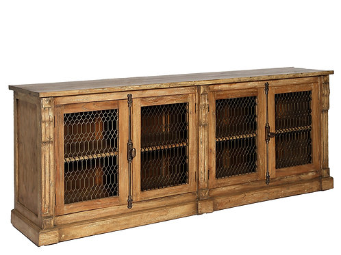 Rustic Mesh Door Buffet