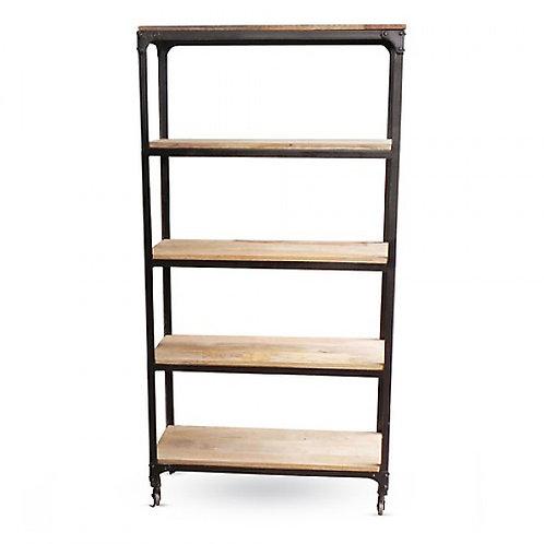 Black Rivet Bookshelves