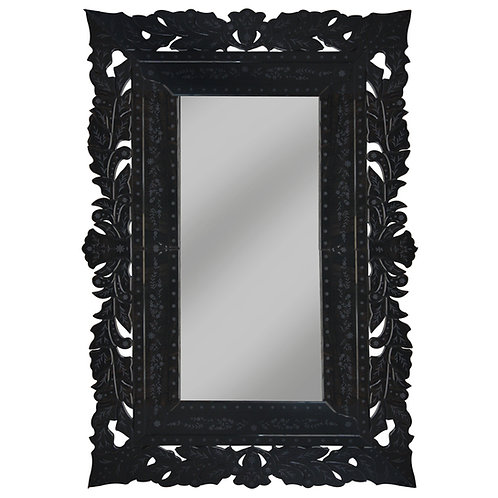 Black Venetian Mirror – EXTRA LARGE
