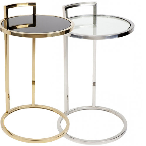 Maxie Side Table – Gold or Chrome