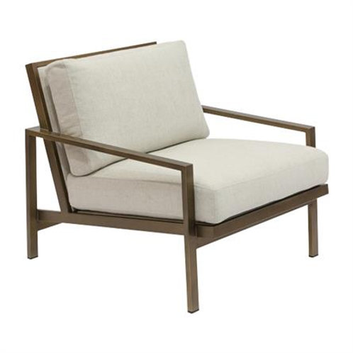 Steel Frame Occasional Chair