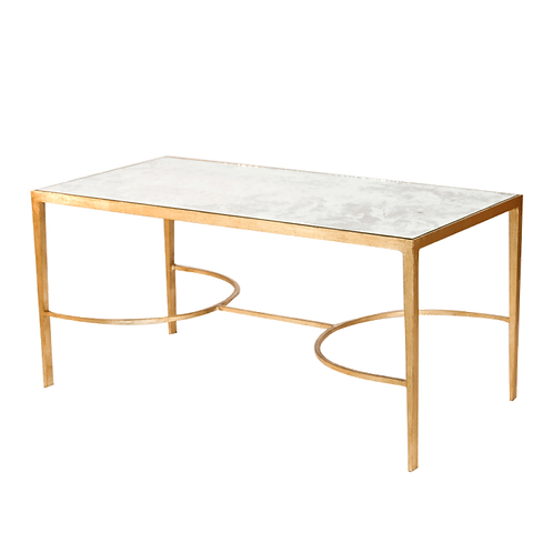 Garrett Gold Leaf Table