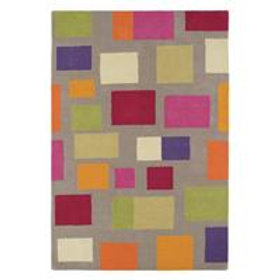 Blocks Wool Rug Bright – Scion