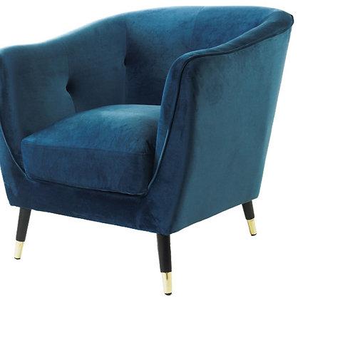 Ocean Velvet Chair