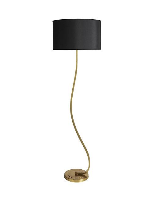 Snake Brass Floor Lamp