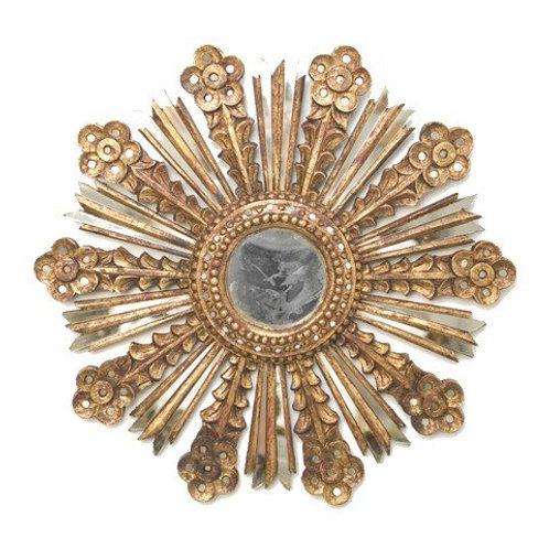 Belladonna Gold Leaf Mirror