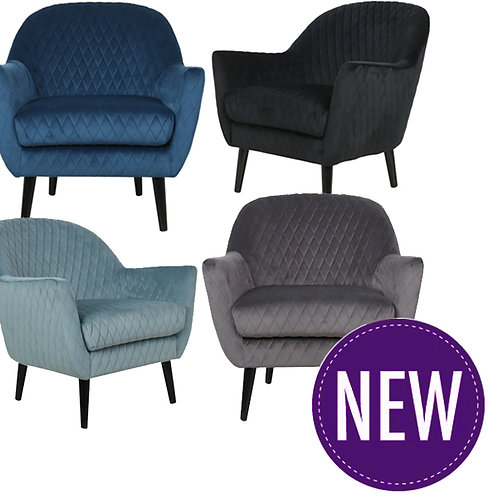 Joanna Occasional Chair – 4 Colour Options