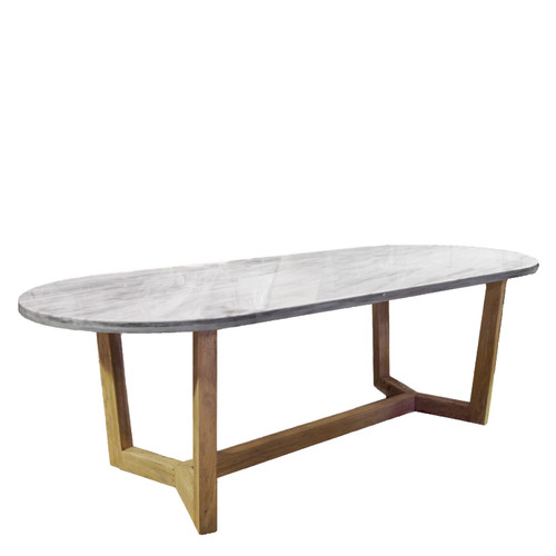 Olympia Marble Top Dining Table