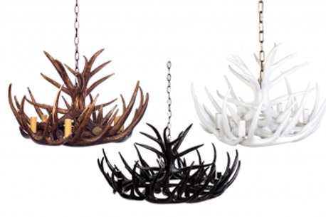Antler Pendant – 3 colours – 6 or 9 Arm
