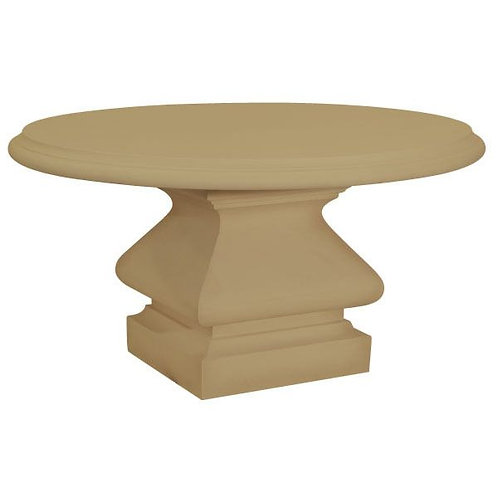 GRC table with Iron Base