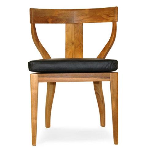 Curved Teak Chair