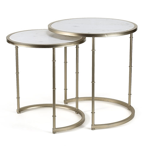 Marble Top Set of Tables