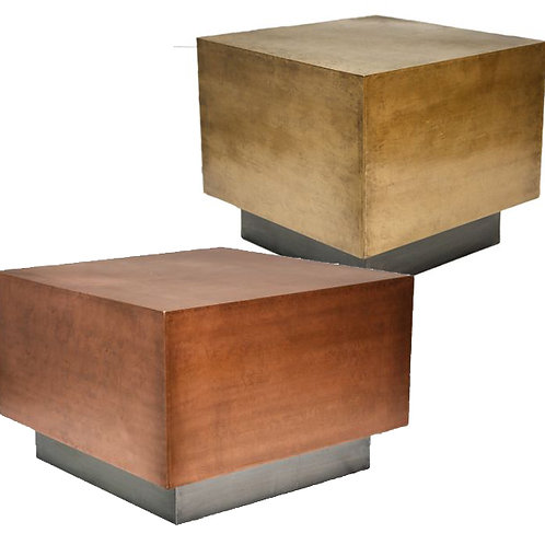 Square Plated Table – 2 Colours/Sizes