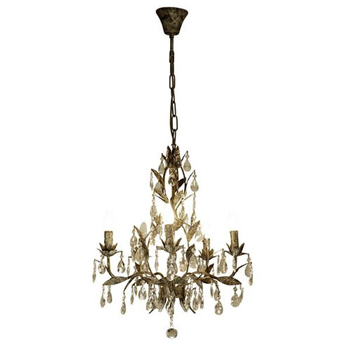 Taupe Drop Chandelier