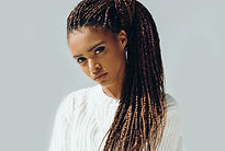 Girl with Micro Braids