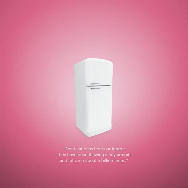 Warrior in Pink Magazine Ad