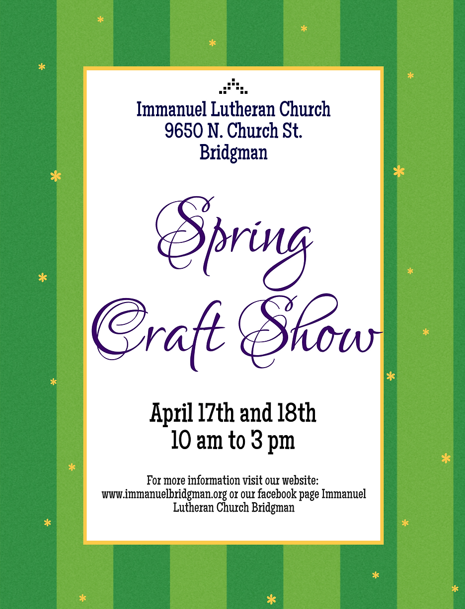 Spring Craft Show 2021 Flyer.png