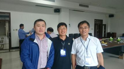 Prof. D. J. Ahn, Prof. L. Y. Jin and Prof. C. Cui