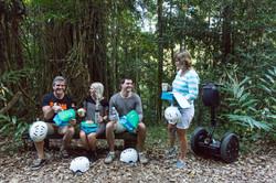 Morning tea in the Rainforest