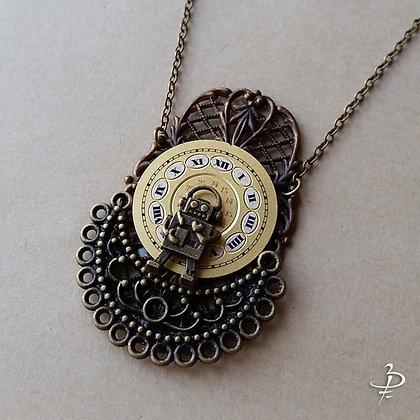 "Collier pendentif ""Métropolis #1"""