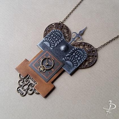 """Collier pendentif """"Château"""""""