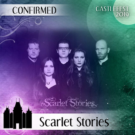 Scarlet Stories at Castlefest 2019