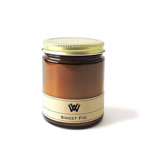 Soy Candle - 7.2 oz Sweet Fig