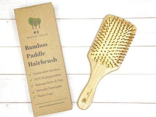 Bamboo Paddle Hairbrush