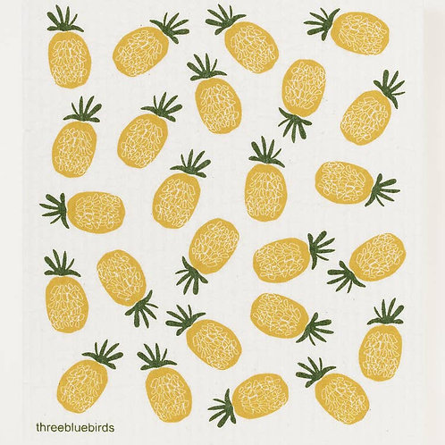 Swedish Dishcloth - Pineapples