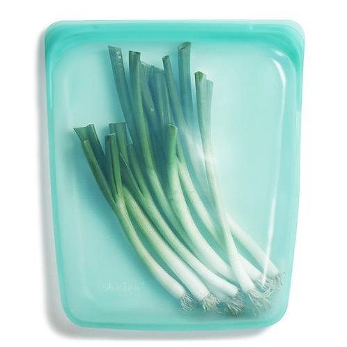 Stasher: Reusable Silicone Half Gallon Bag - (Clear or Aqua)