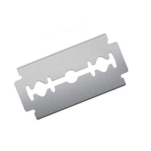 Stainless Steel Double Edge Safety Razor Blade Refills - 2 Boxes
